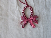 Awarness Ribbon Christmas Ornament (Red)