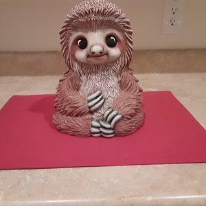 Ceramic Sloth Loki