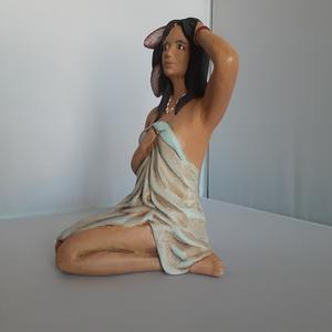 Ceramic Native American Woman