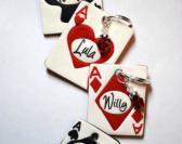 Playing Card Dog Tag