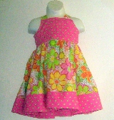 Flower Power Knot Dress