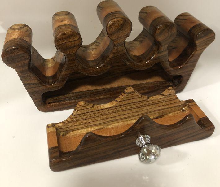 Princess Crown Bandsaw Jewelry Box
