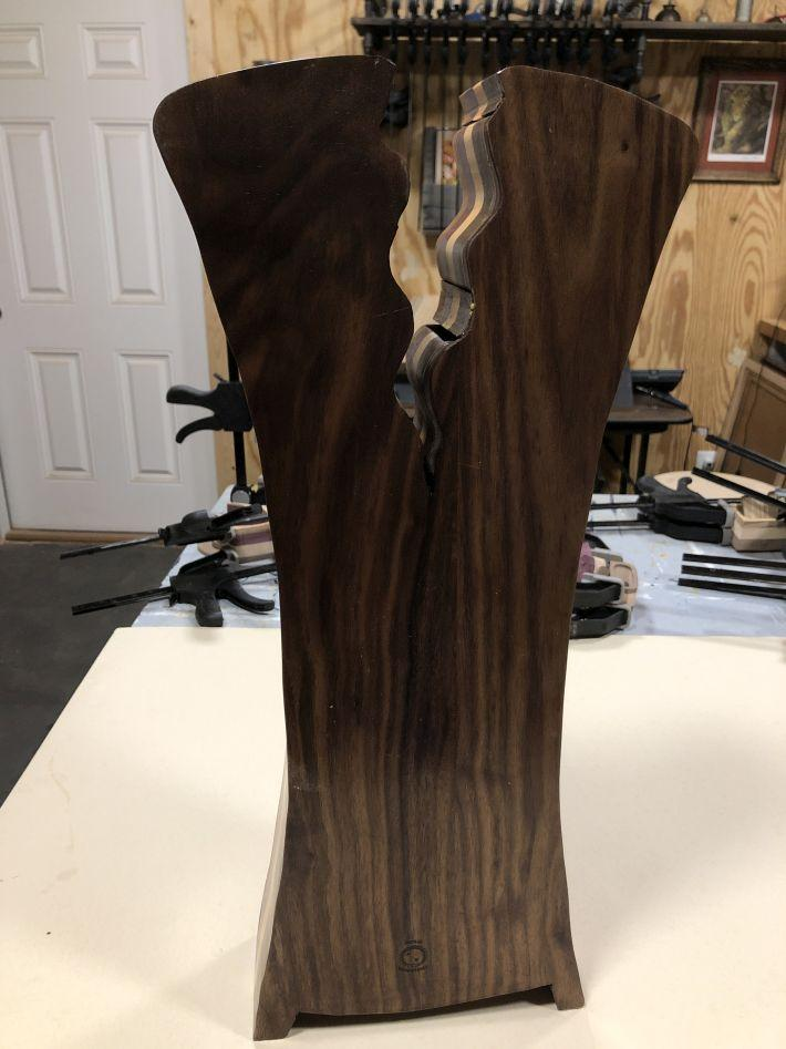 Struck by Lightning Larger Bandsaw Jewelry Box