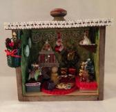 Christmas Decoration Shadow Boxes