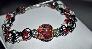 Gothic Romance Lampwork Bracelet
