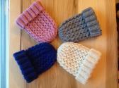 Hand Knit Newborn Baby Hat