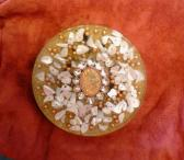Jewel Orgone Plate Charger