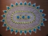 Nostalgia Now Oval Doily Table Topper