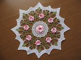 Crocheted Spring Always Doily