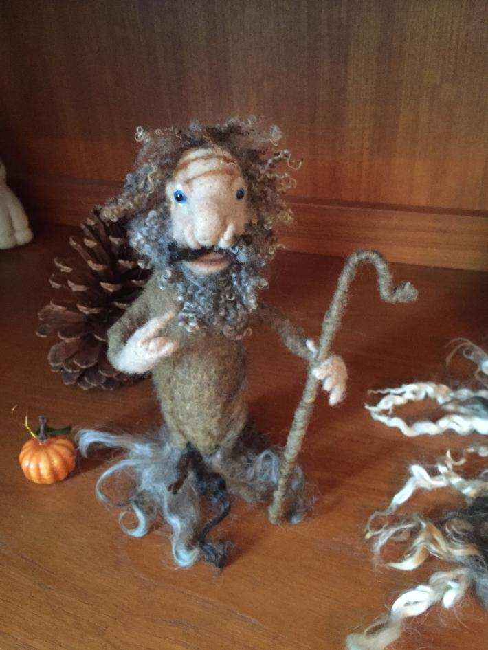 Wool felted creations