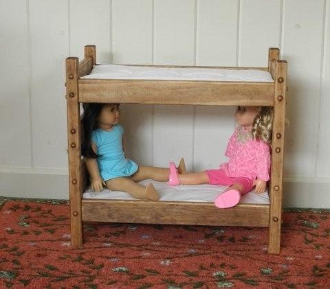 American Girl Doll Furniture Bunk Beds