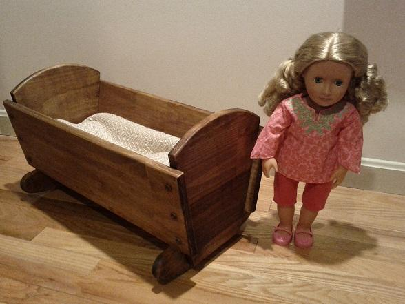 American Girl Doll Furniture Cradle