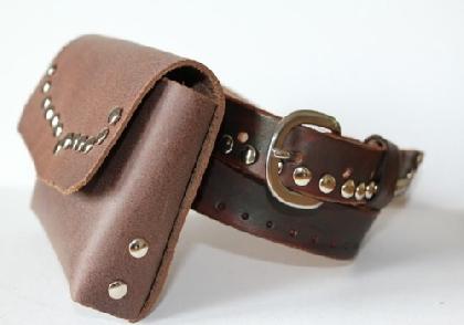 Belt purse