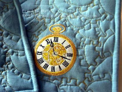 Dinner Time Clockwork Pot Holder