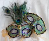 Matching Couples Mardi Gras Masquerade Masks
