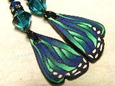 Incredible Butterfly Wing Earrings