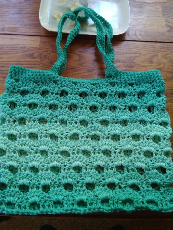 Crochet Beach Bag Tote