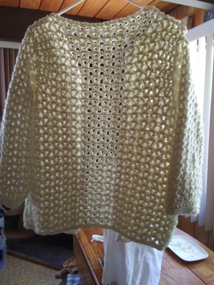 Crochet Ladies Sweater
