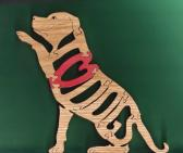 I Love Dogs Puzzle Cut On Scroll Saw