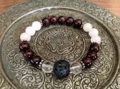 Deep Garnet Love Aromatherapy Bracelet