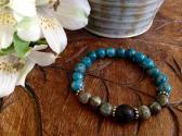 Apatite Humanitarian Diffuser Bracelet
