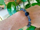 Labradorite Transformation Diffuser Stretch Bracelet