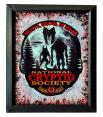 Cryptid Society Acrylic Painting Framed