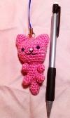 zipper pull bag decoration