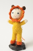 Lucy the Lion crocheted doll  toy