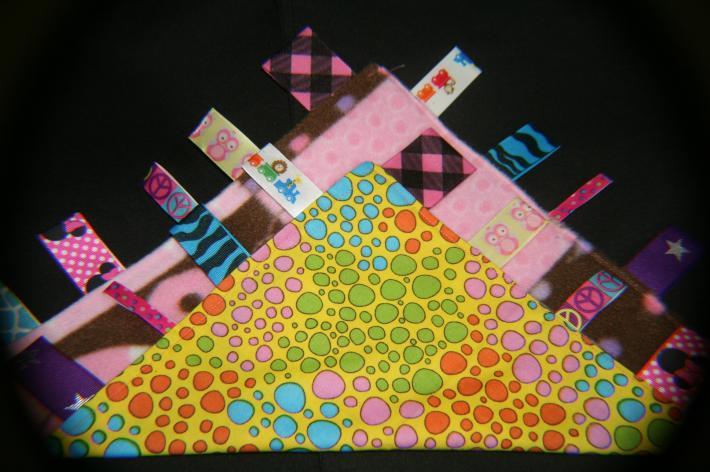 Super Cute Dino Print Tag Blanket