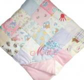 Custom Embroidered Patchwork Quilt