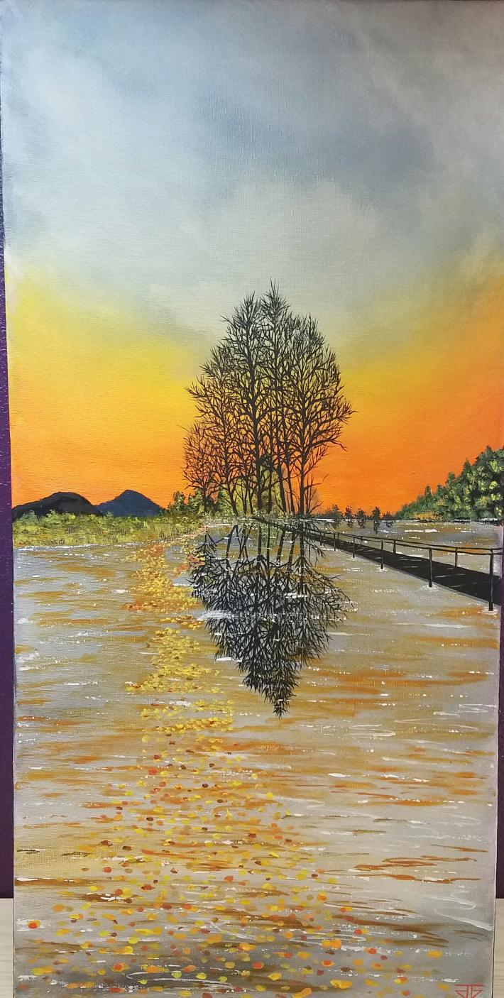 Acrylic Painting on Canvas