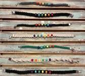 Rainbow Pride Hemp Bracelet