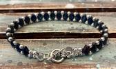 Royal Blue GemDuo Beaded Bracelet