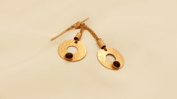 Amazing Hanging Gold Filled Earrings