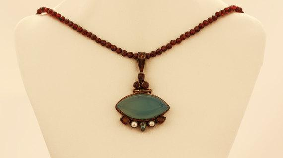 Unique Gemstone Necklace