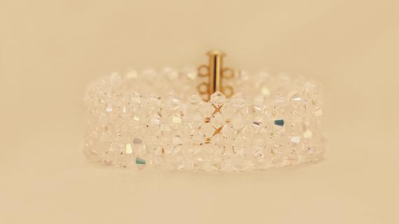 Elegant Swarovski Crystal Bracelet