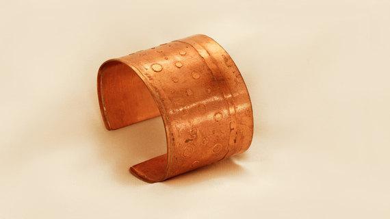 Unique Copper Bracelet