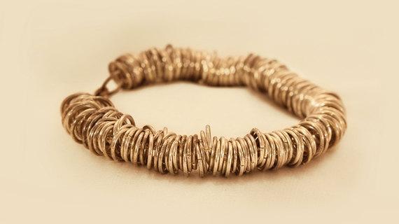 Silver Coin Bracelet