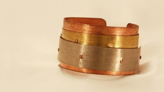 Multicolor Metal Bracelet