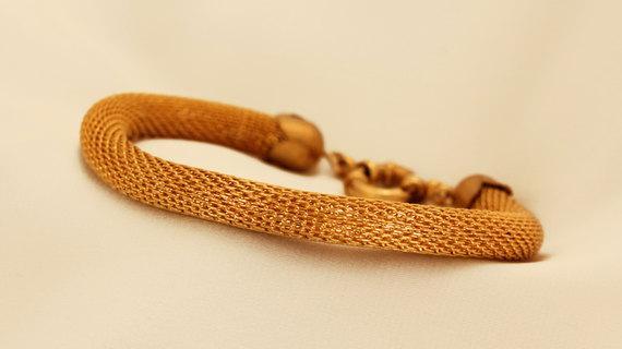 Statement Gold Filled Bracelet