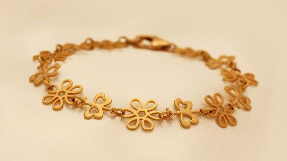 Romantic Gold Filled Bracelet