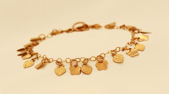 Romantic Gold Filled Bracelet