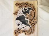 Wood Slab Panda
