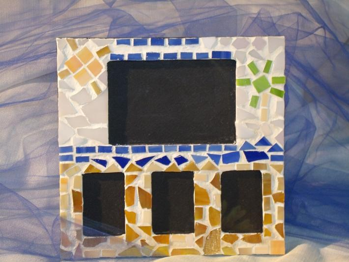 Beach Mosaic picture frame