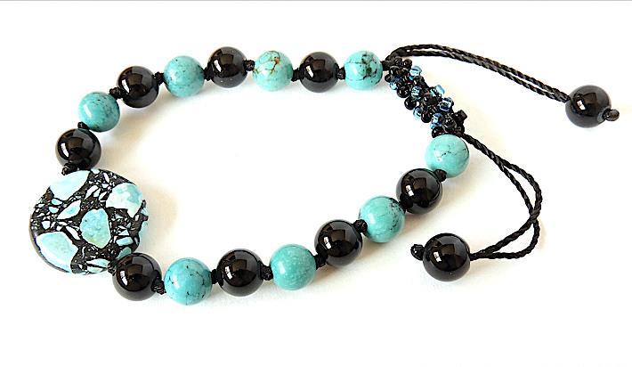 Turquoise Gemstone Bracelet