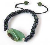 Peruvian Green Opal Bracelet