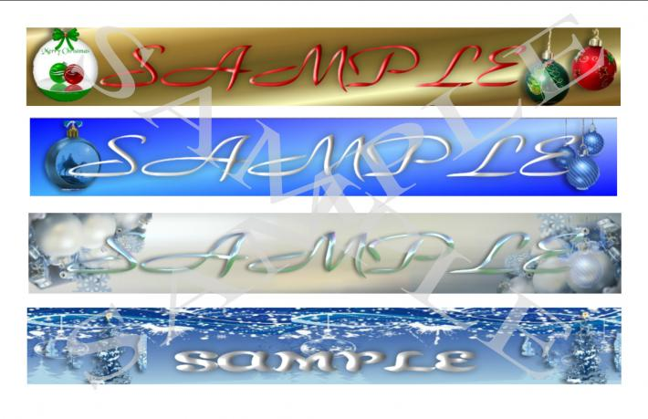 Holiday Shop  Banners