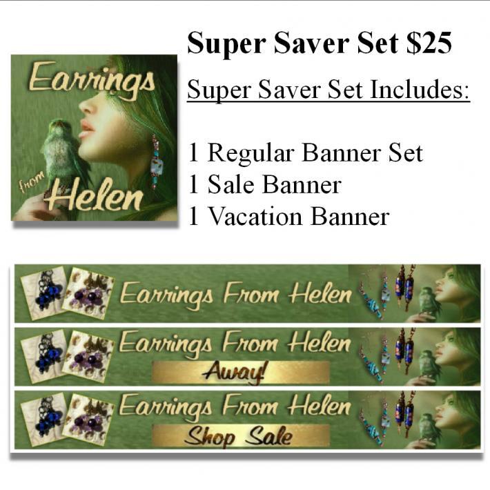 Super Saver Banner and Avatar Sets