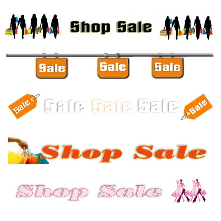 Shop Sale Banners